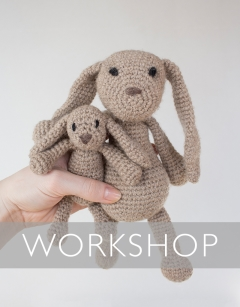 Learn to crochet: Emma the Bunny Saturday 19th September (PM)