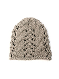 FREE Cable Lace Hat pdf
