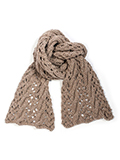 Cable Lace Scarf pdf