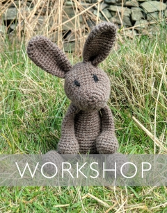 Learn to Crochet: Lucy the Hare Saturday 1st February (PM)