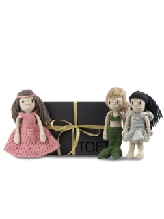 TOFT Fairytale Mini Dolls Discovery Box