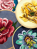 Floral Embroidery with Jess De Wahls Sat 6th Oct (full day)