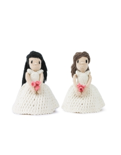 Mini Wedding Dolls - Dress and Dress