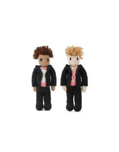 Mini Wedding Dolls - Suit and Suit
