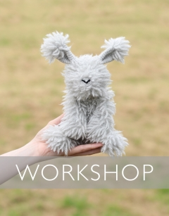 Learn to loop stitch: Lauren the Angora Bunny Sunday 9th August (AM)