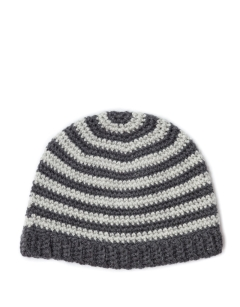 FREE Striped Crochet Hat pdf