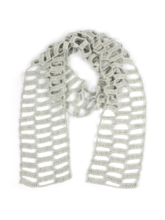 Block Cut-Out Scarf