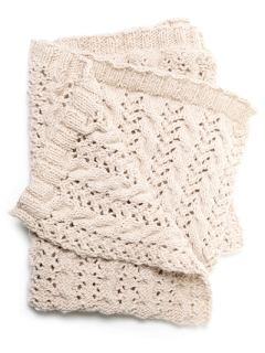 Cable Lace Blanket pdf