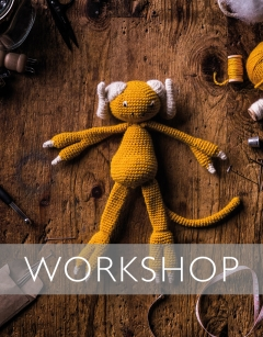 Halloween Special: Learn how to Crochet Caleb the Monster Wednesday 30th October (PM)
