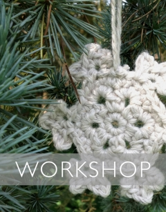 Learn to Crochet: Snowflakes Saturday 9th November (PM)