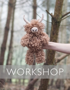Learn to Loop Stitch: Morag the Highland Coo Sunday 2nd February (AM)