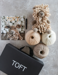 Crochet Sheep Gift Box