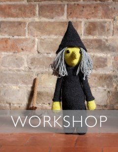 Halloween Special: Learn how to Crochet a Witch Wednesday 30th October (PM)
