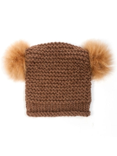 FREE Double Pompom Hat