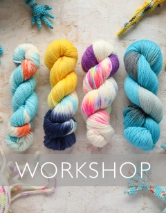 Learn to hand dye yarn Sunday 16th August (AM)