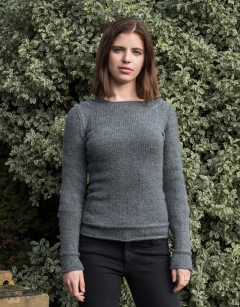 Staple Sweater Knitting Kit British Wool Toft