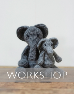 Learn to Crochet: Bridget the Elephant Saturday 11th January (AM)