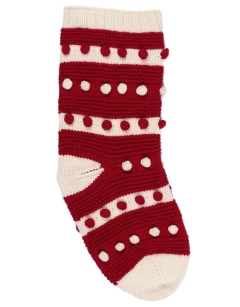 Festive Bobble Stocking