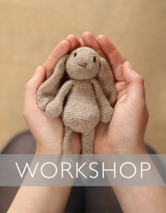 Learn to crochet: Fine Emma the Bunny Saturday 2nd May (AM)
