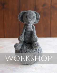 Learn to crochet: Fine Bridget the Elephant Saturday 2nd May (AM)