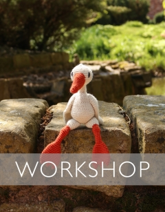 Learn to Crochet: Pheobe the Emden Goose Bank Holiday Monday 26th August (AM)