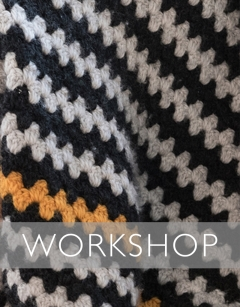 Learn to crochet: Granny Stripes Saturday 8th August (AM)