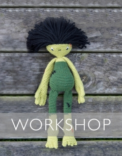 Halloween Special: Learn how to Crochet Frankie the Monster Wednesday 30th October (PM)