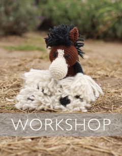 Learn to loop stitch: Pat the Shire Horse Saturday 29th August (PM)