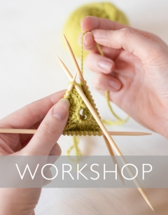 Learn to knit with DPNs Sunday 3rd May (PM)