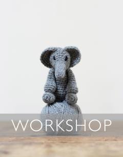 Learn to Crochet: Mini Bridget the Elephant Wednesday 2nd October (PM)
