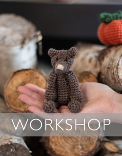 Halloween Special: Learn how to Crochet: Mini Ian the Rat Thursday 31st October (AM)