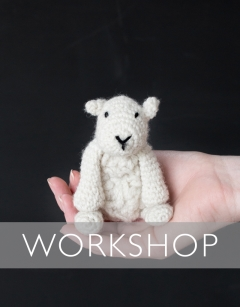 Learn to Crochet: Mini Simon the Sheep Wednesday 2nd October (PM)