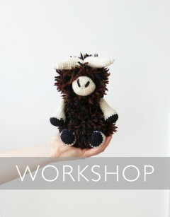 Learn to loop stitch: Romulus the Muskox Saturday 29th August (PM)