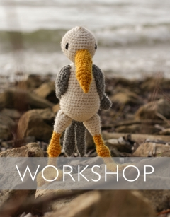 Learn to crochet: Dave the Seagull Sunday 7th June (PM)