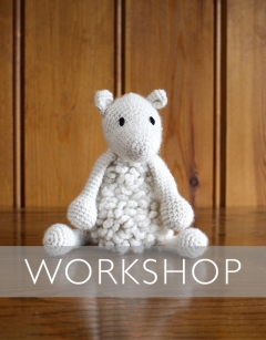 Learn to Crochet: Simon the Sheep Saturday 11th January (AM)