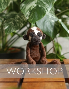 Learn to crochet: Mabel the Brown Spider Monkey Sunday 23rd August (AM)