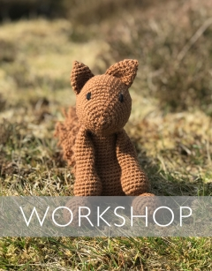 Learn to Crochet Loops: Boris the Red Squirrel Saturday 25th January (AM)