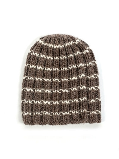 FREE Striped Beanie pdf