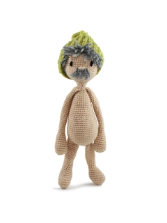 Crochet Ed's Wardrobe Outfit - Beanie Hat Sat 9th June (AM)