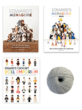 Ed's Animals, Birds & Dolls Bundle with 100g Yarn