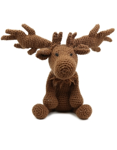 Crochet Oisin the Irish Deer Wed 19th December (PM)