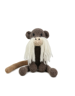 Learn Crochet Loop Stitch: Gerard the Emperor Tamarin Sat 4th May (PM)
