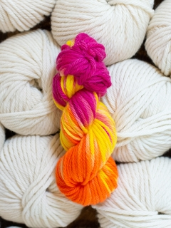 Learn to Hand Dye CHUNKY Sat 27th July (AM)