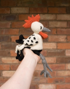 Crochet Melvin the Orust Rooster Sun 4th November (AM)