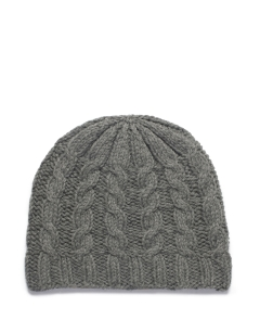 Mirrored Cable Beanie