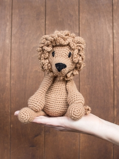 Learn to Crochet: Rufus the Lion Saturday 7th September (AM)