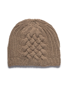 Woven Cable Beanie pdf