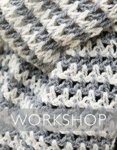 Learn to Tunisian Crochet Wednesday 13th November (PM)