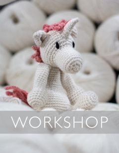 Learn to crochet: Chablis the Unicorn Sunday 31st May (PM)