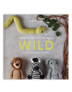How to Crochet: WILD Mini Menagerie book by Kerry Lord